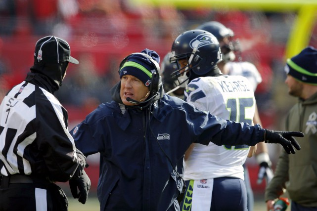 L'entraîneur-chef des Seahawks de Seattle, Pete Carroll, aura... (Archives AP)