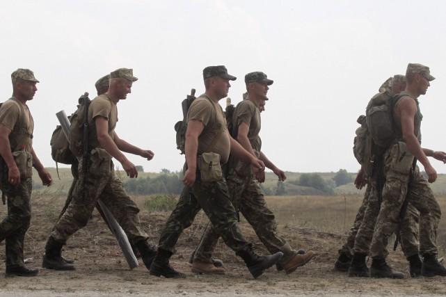 Un contingent de 200 soldats partira de la... (AP, Efrem lukatsky)