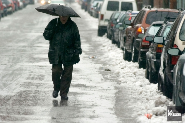 Entre 25 et 40 millimètres de pluie pourraient... (Photo d'archives)