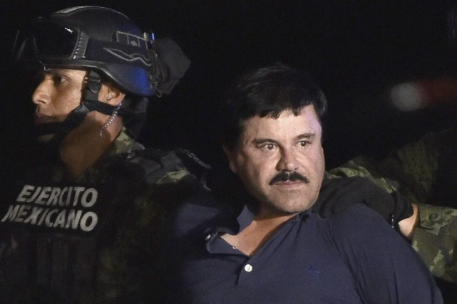 Le baron de la drogue mexicain Joaquin «El... (PHOTO ARCHIVES AFP)