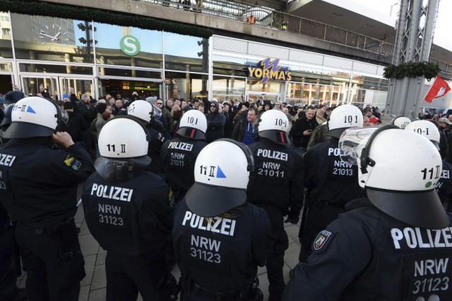 La ville de Cologne a été le siège... (PHOTO ROBERTO PFEIL, AFP)