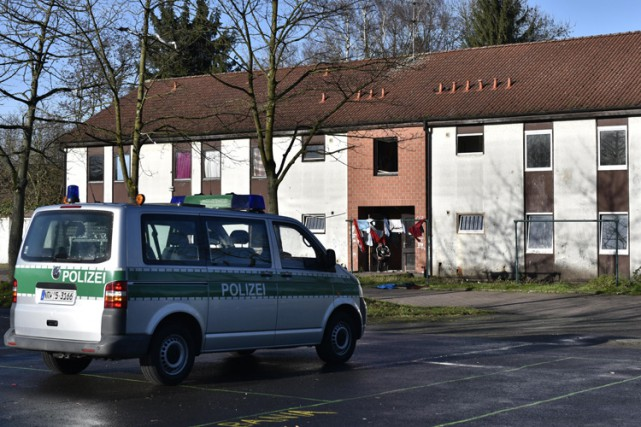 Arrivé à Recklingshausen début août et reparti en... (PHOTO AP)
