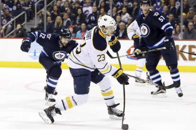 Sam Reinhart a marqué trois buts et les Sabres de Buffalo ont mis fin à une... (PHOTO REUTERS)