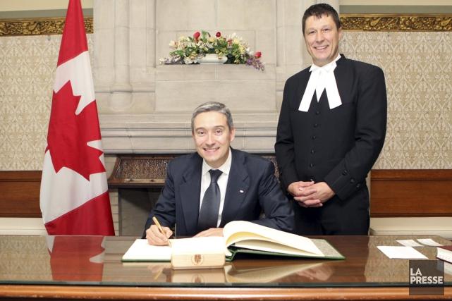 La prochaine année du député de Saint-Maurice-Champlain, François-Philippe... (La Presse)