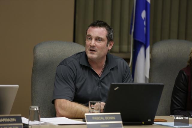 Le maire de Granby, Pascal Bonin.... (Catherine Trudeau, archives La Voix de l'Est)