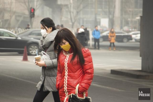 L'épisode de smog de février 2014 est l'un... (Archives La Presse)