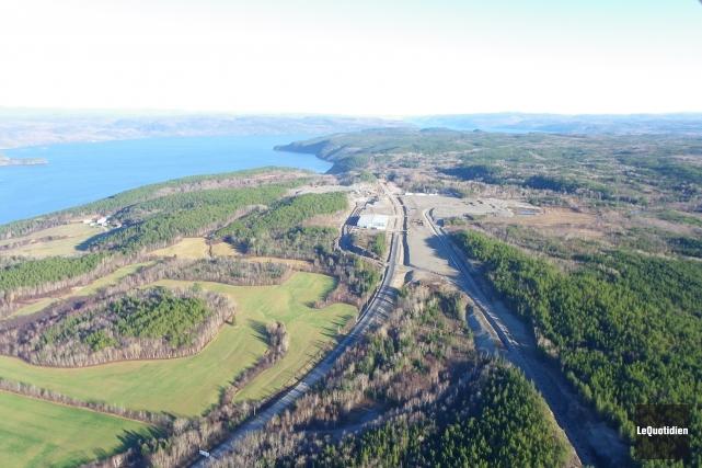GNL Québec souhaite construire une usine de liquéfaction... (Archives Le Quotidien)