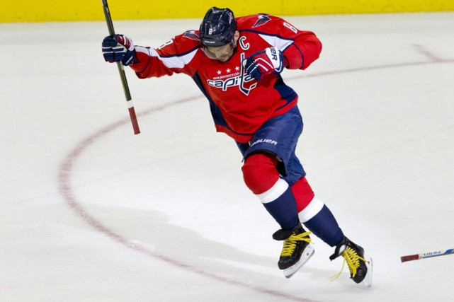 Alexander Ovechkin a inscrit son 500e but à... (PHOTO AP)