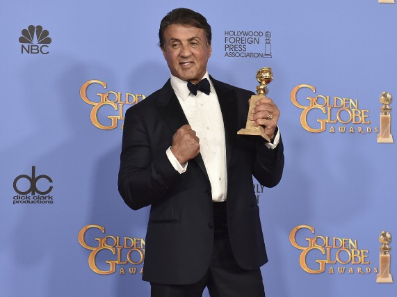 Sylvester Stallone a remporté dimanche son premier Golden... (Associated Press)