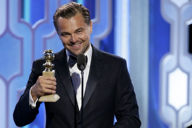 Leonardo DiCaprio a emporté la statuette du meilleur... (Associated Press)
