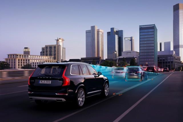 Le programme «Drive-Me» de Volvo permettra dici 2017... (Photo fournie par Volvo)
