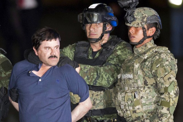 Joaquin «El Chapo» Guzman a été capturé le... (Associated Press, Eduardo Verdugo)