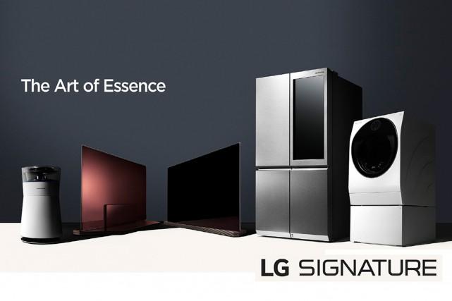 La gamme Signature de LG sera commercialisée d'ici... (LG Electronics)