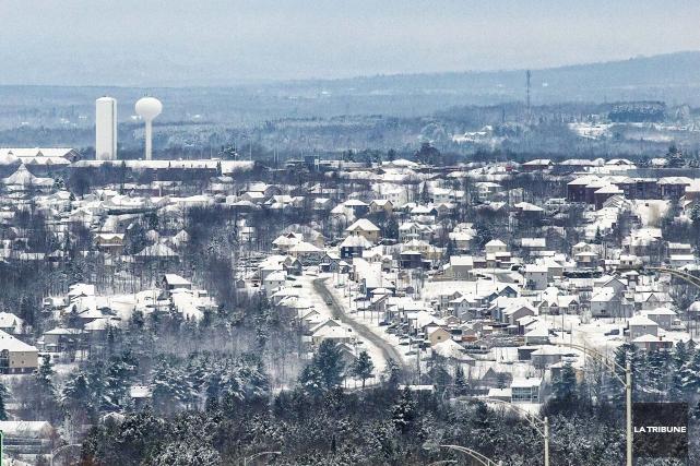 La population de Sherbrooke a grimpé de près de 1% au cours de la dernière... (Archives La Tribune)