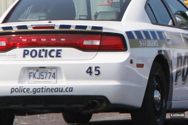 L'unité antigang du Service de police de la... (Photo Simon Séguin-Bertrand, archives Le Droit)