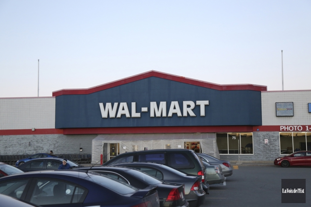 La succursale Walmart à Granby est vraisemblablement appelée... (Julie Catudal, La Voix de l'Est)