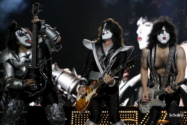 Kiss a été inspiré par David Bowie dans... (Photothèque Le Soleil)