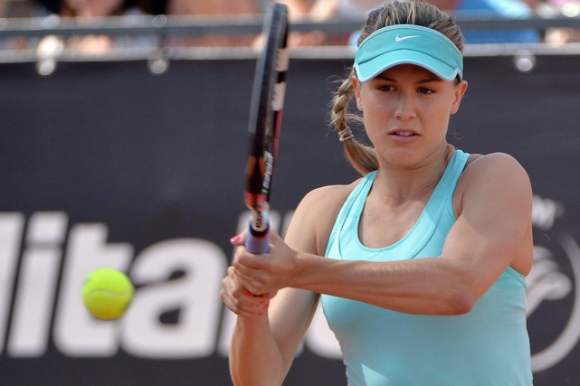 Eugenie Bouchard... (Archives Associated Press)