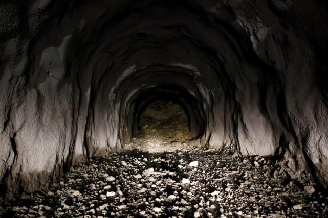 Le site minier Skouries avait été fermé en... (PHOTO BLOOMBERG)