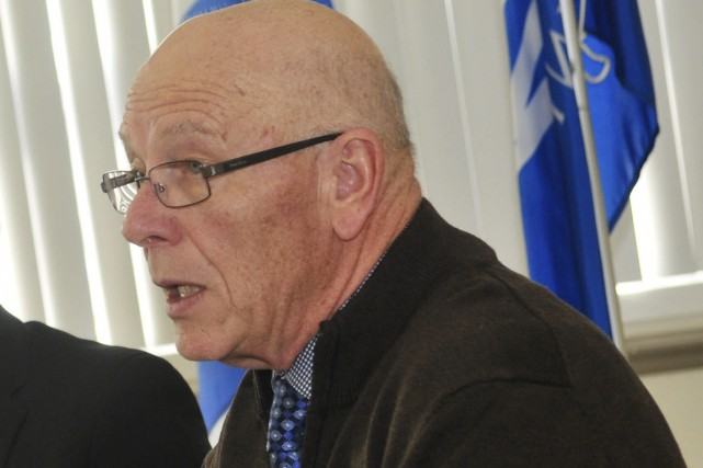 Le maire de Saint-Mathieu-du-Parc, Claude McManus.... (Archives)