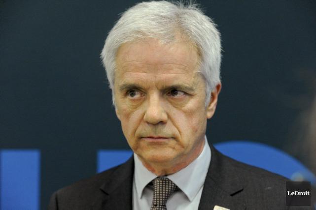 Le recteur de l'Université du Québec en Outaouais,... (Martin Roy, LeDroit)