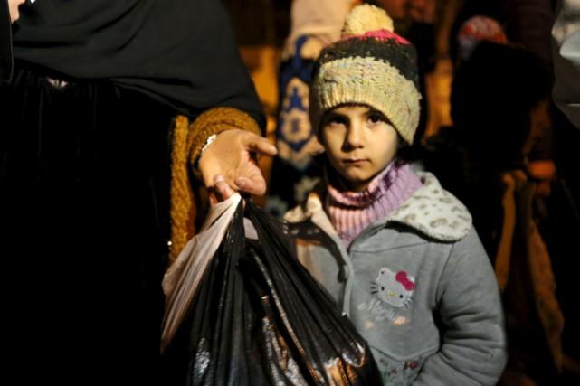 À Madaya, «400 personnes doivent être évacuées immédiatement»... (PHOTO REUTERS)