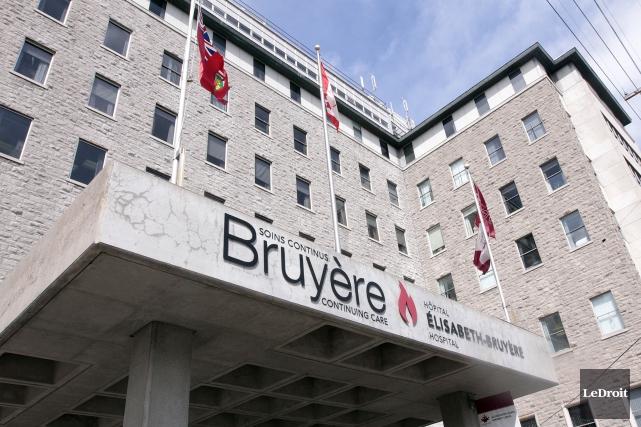 L'hôpital Bruyère d'Ottawa vient de se doter d'un nouveau président-directeur... (Etienne Ranger, Archives LeDroit)