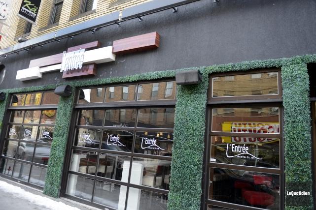 Le restaurant L'Entrée est mis en vente.... (Photo Le Quotidien, Jeannot Lévesque)