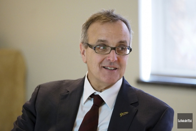 Le directeur général de Bromont, Jean Langevin.... (Alain Dion, Archives La Voix de l'Est)
