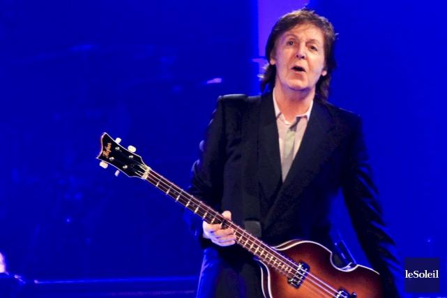 Paul McCartney... (Photothèque Le Soleil)