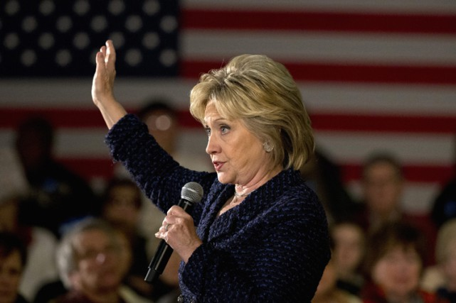 Hillary Clinton... (PHOTO AP)
