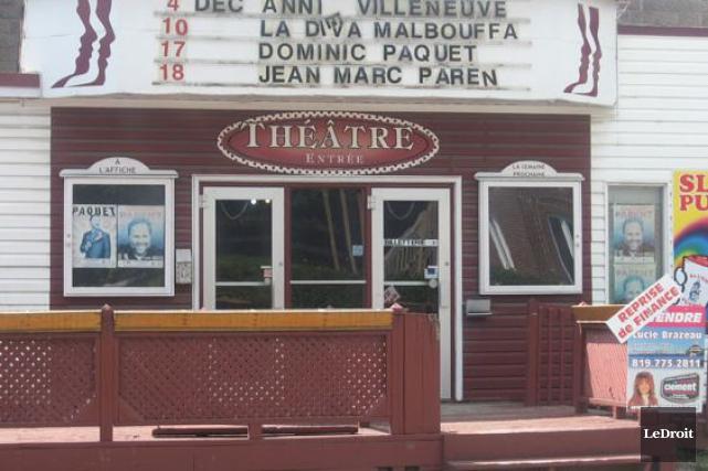 «L'absence du Théâtre des Quatre Soeurs ces dernières... (Archives, LeDroit)