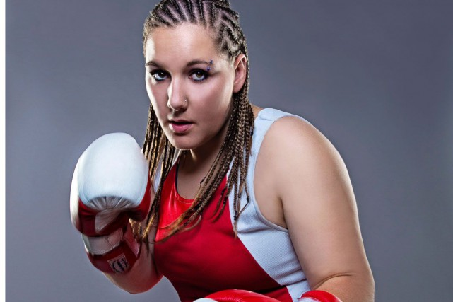 La boxeuse de la Petite-Nation, Vanessa Lepage-Joanisse.... (Photo sergeroyphoto.com)