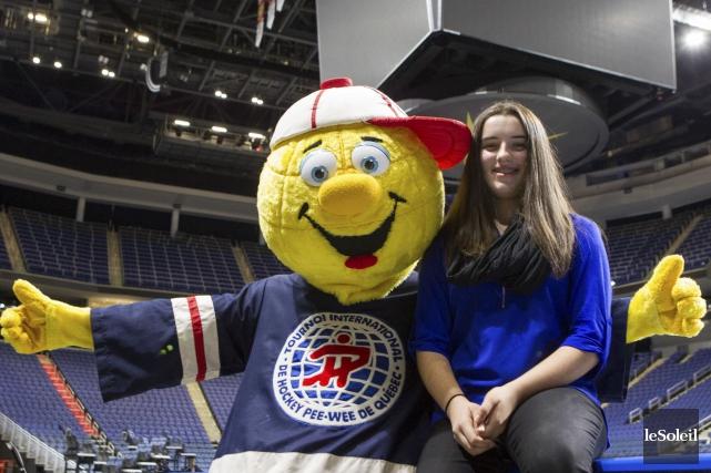 Gardienne de l'équipe québécoise féminine qui sera du... (Le Soleil, Caroline Grégoire)