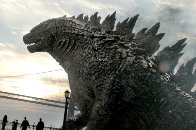 Les films produits par Legendary - dont Godzilla... (PHOTO AP)
