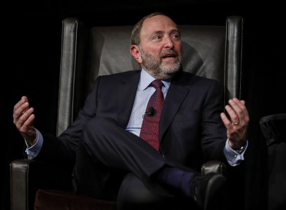 Le commissaire de la Ligue nationale de hockey,... (La Presse Canadienne, Jeff McIntosh)