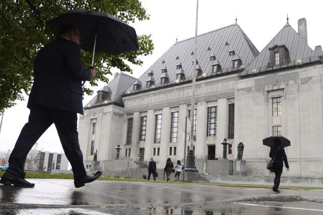Les juges de la Cour suprême ne se... (La Presse Canadienne, Sean Kilpatrick)