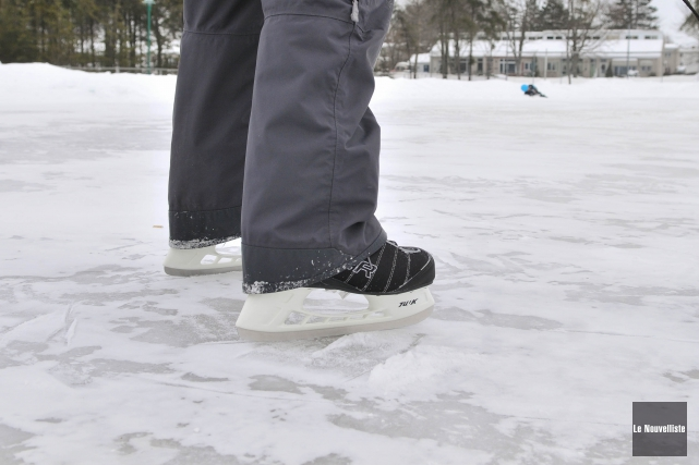 Plusieurs patinoires extérieures de Trois-Rivières ont été rouvertes lundi, à... (Photo: archives Le Nouvelliste)