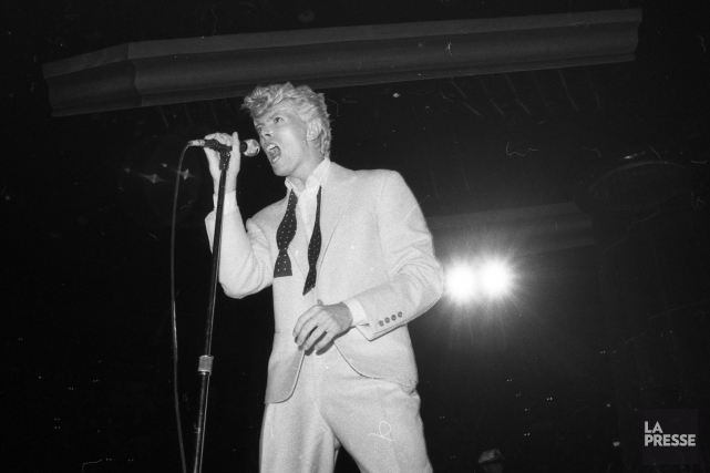 David Bowie au Forum de Montréal le 12... (PHOTO DENIS COURVILLE, ARCHIVES LA PRESSE)