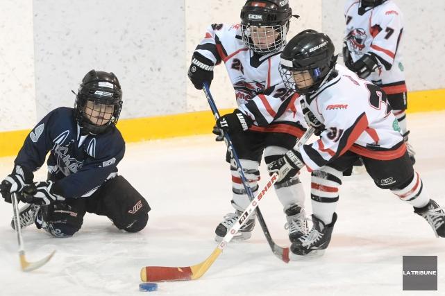 Une centaine d'équipe provenant d'un peu partout au Québec, des catégories... (Archives La Tribune, Maxime Picard)