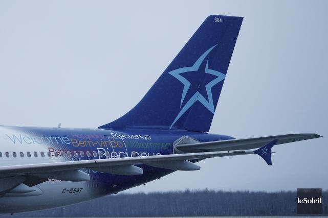 Les524 pilotesd'Air Transat ont voté à 96 %en... (Photothèque Le Soleil, Yan Doublet)