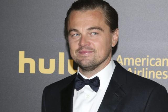 Leonardo DiCaprio aux Golden Globes dimanche.... (PHOTO AP)
