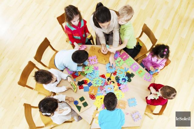 L'Association des centres de la petite enfance du... (Photothèque Le Soleil)