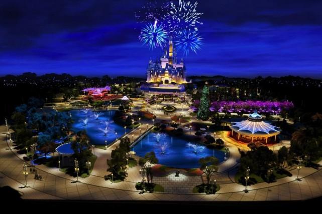 Le groupe de médias et de divertissement américain Disney a annoncé mardi que... (PHOTO FOURNIE PAR SHANGHAI DISNEY RESORT)