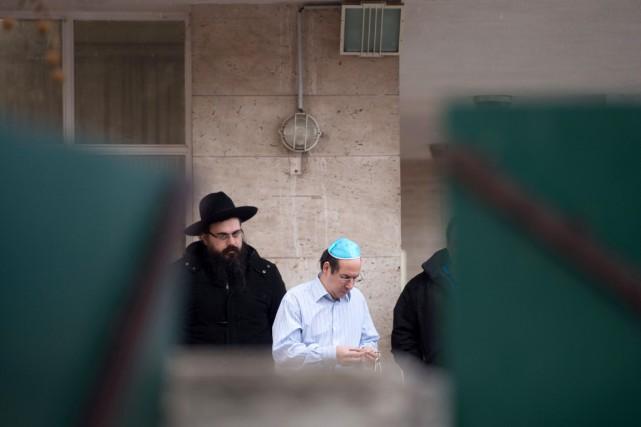 La communauté juive de Marseille, forte de quelque... (PHOTO BERTRAND LANGLOIS, AFP)