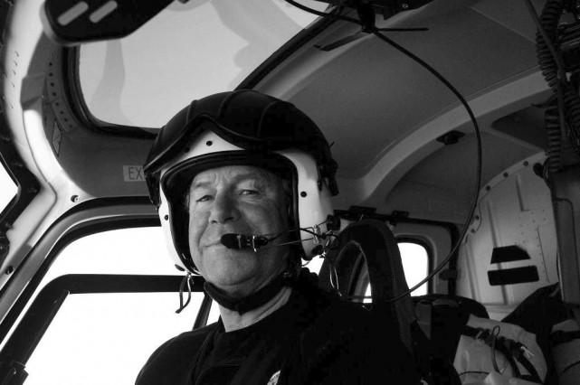 Le pilote David Wood... (Photo Gouvernement australien, La Presse Canadienne)