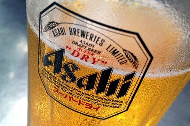 Dans un communiqué publié mardi, Asahi a déclaré... (PHOTO REUTERS)