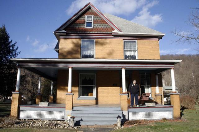 Un couple de la Pennsylvanie éprouve des difficultés à vendre sa maison qui... (PHOTO AP)