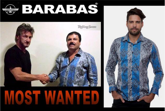 «El Chapo» arrêté vendredi deviendrait-il une icône de mode? C'est le pari d'un... (Photo tirée du site internet du magasin)