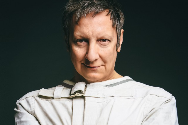 Robert Lepage sur l'image promotionnelle de Quills.... (PHOTO FOURNIE PAR EX MACHINA)